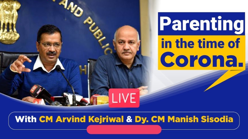 Image of Mr. Arvind Kejriwal and Mr. Manish Sisodia